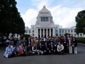 2013/10/9 ハナミズキの会国会見学