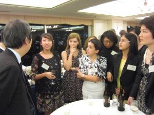 2013年10月22日 政務官主催レセプション(アジア中南米協力フォーラム(FEALAC)若手リーダー招へい)