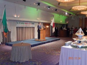 2013年10月24日 在京ザンビア大使館主催レセプション