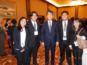 2013年10月30日 第54回海外日系人大会出席者歓迎レセプション
