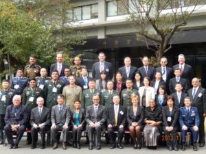 2013年11月11日 日米共催第3回国連平和維持活動(PKO)幹部要員訓練コース(GPOI・SML)開講式