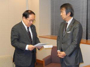 2013年12月9日 要請:「2013ナガサキアピール」朝長長崎市長