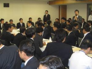 2013年10月4日 自民党外交部会・国防部会・安全保障調査会合同会議(就任挨拶)