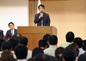2013年10月9日 副大臣・政務官交替式